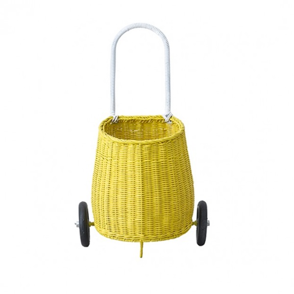 Luggy basket -Yellow