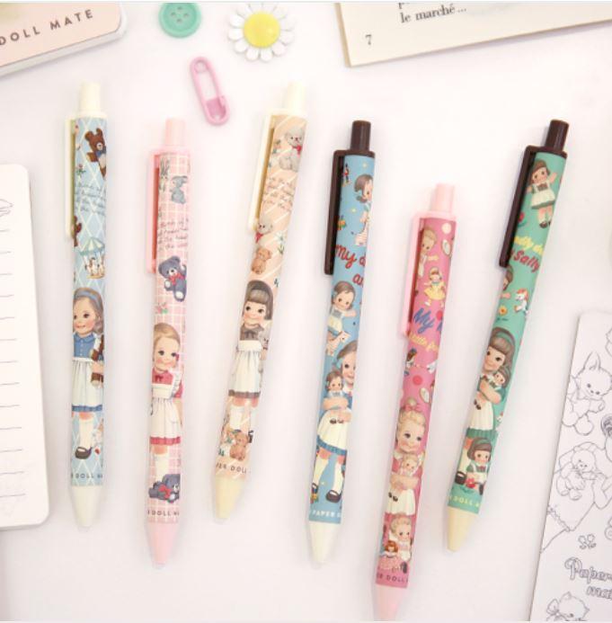 ♥ 입고 ♥ Paper doll mate tick-tock ball pen