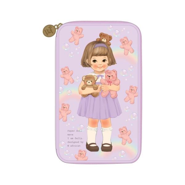 [아프로캣]paper doll mate multi pen pouch L ver.3_Sally