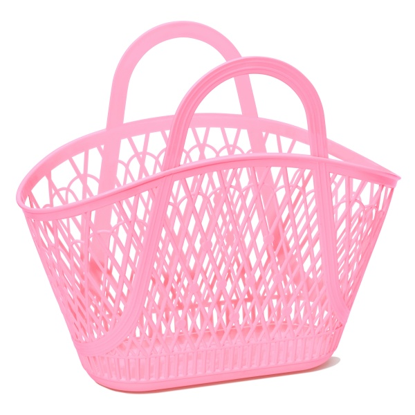 BETTY BASKET - Bubblegum Pink