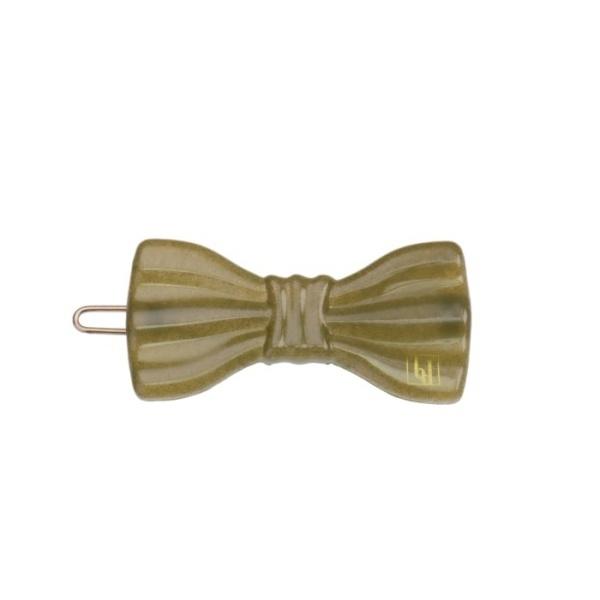 Small Bow clip - Kaki