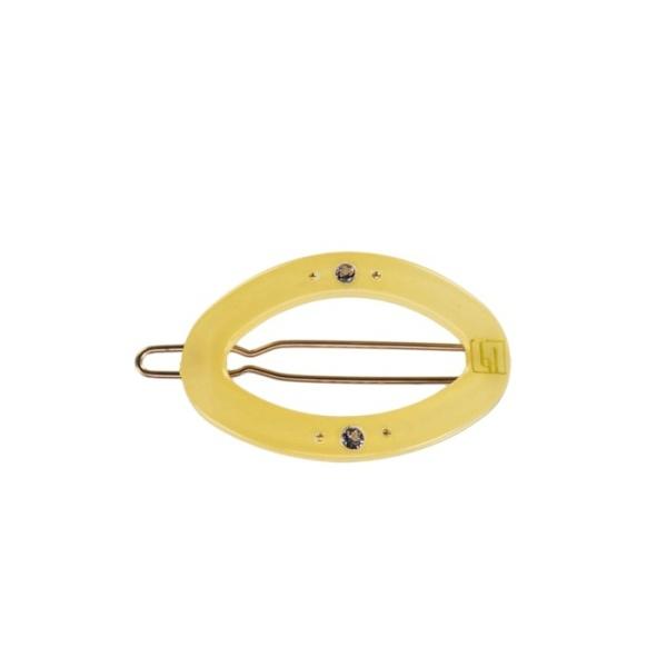 Circle clip - 4cm Light Yellow