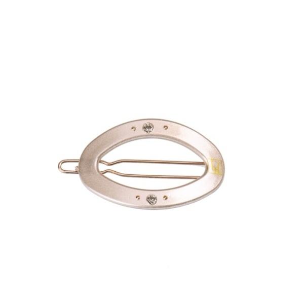 Bondep[본뎁]Circle clip - Beige gloss