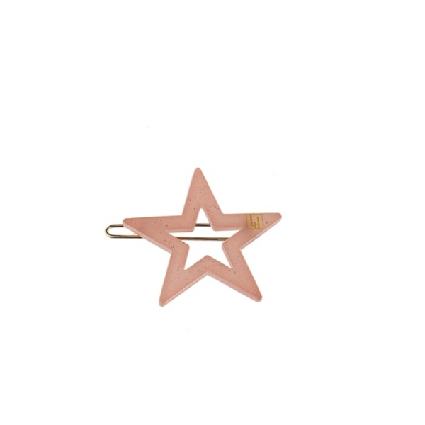 Star clip - Pink