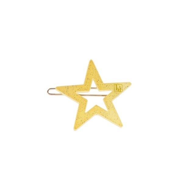 Star clip - Light Yellow