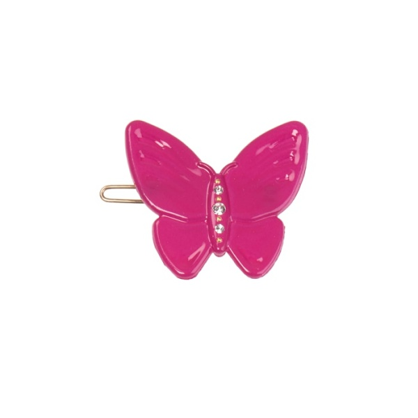 Butterfly clip Strong pink fuchsia