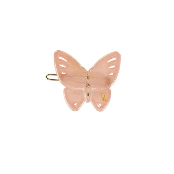 Butterfly clip Pink