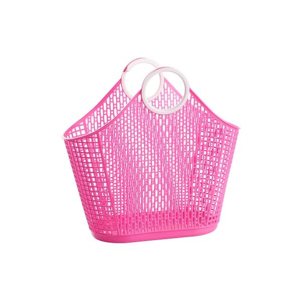FIESTA SHOPPER - Small Hot Pink