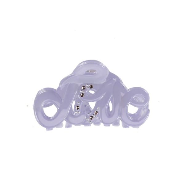 Bondep[본뎁]Love claw 5cm Lavendel Swarovski