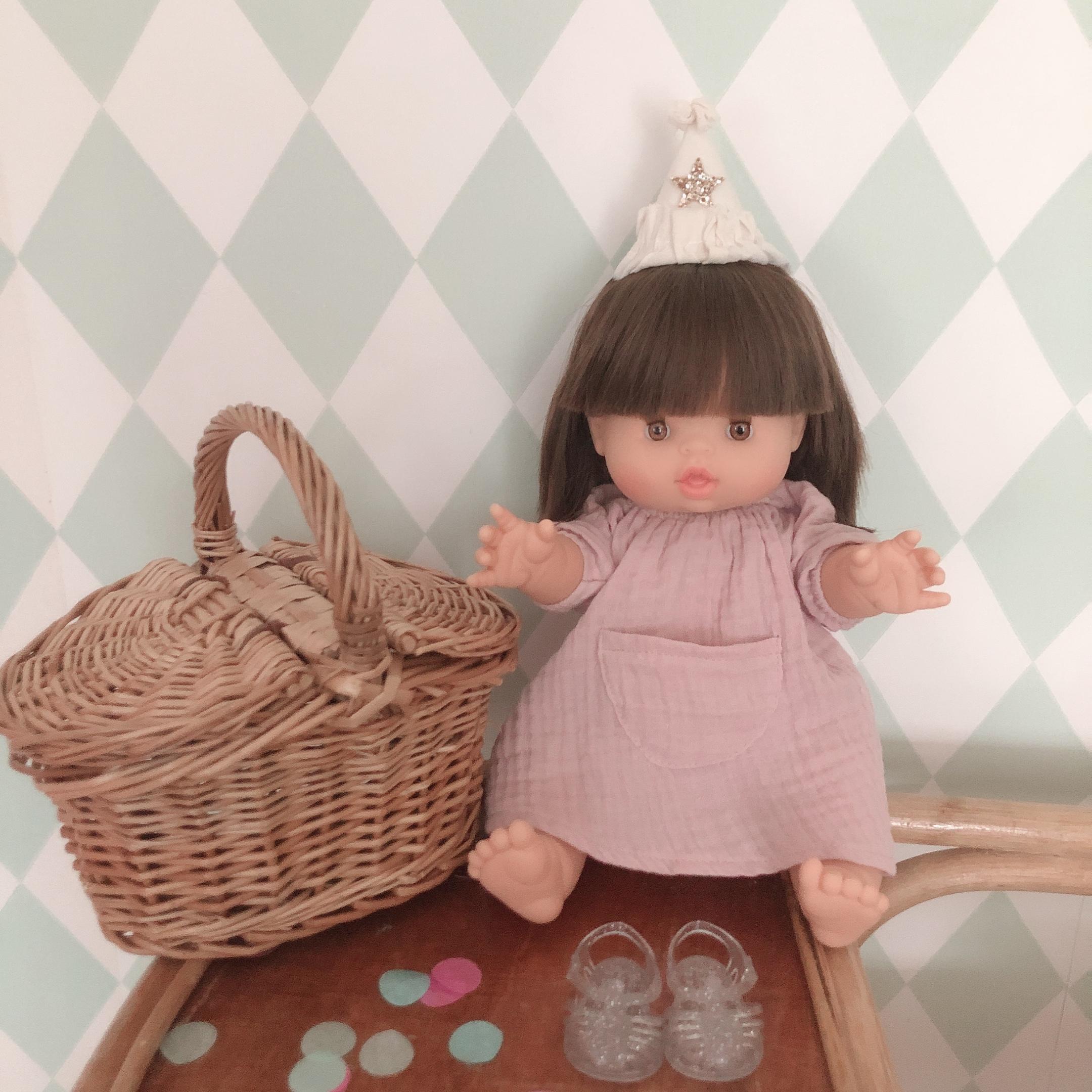 Doll Picnic Basket