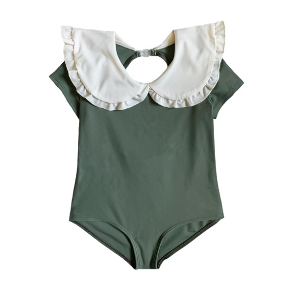 Swimsuit RUFFLE GREEN